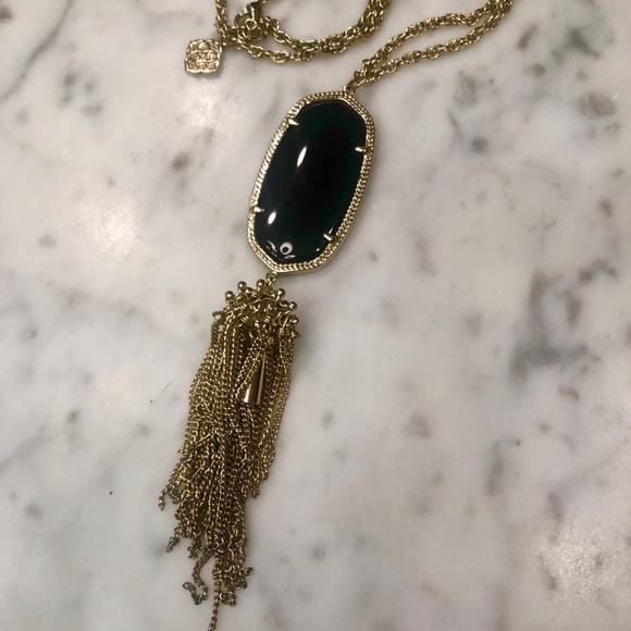 Kendra Scott Jewelry - Kendra Scott black and gold necklace